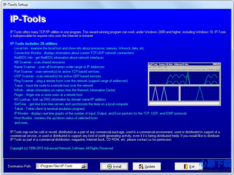 IP-Tools Lite v2.60