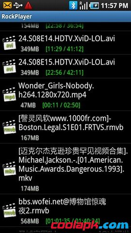 安卓RockPlayer-rmvb播放器免费版v1.6.3